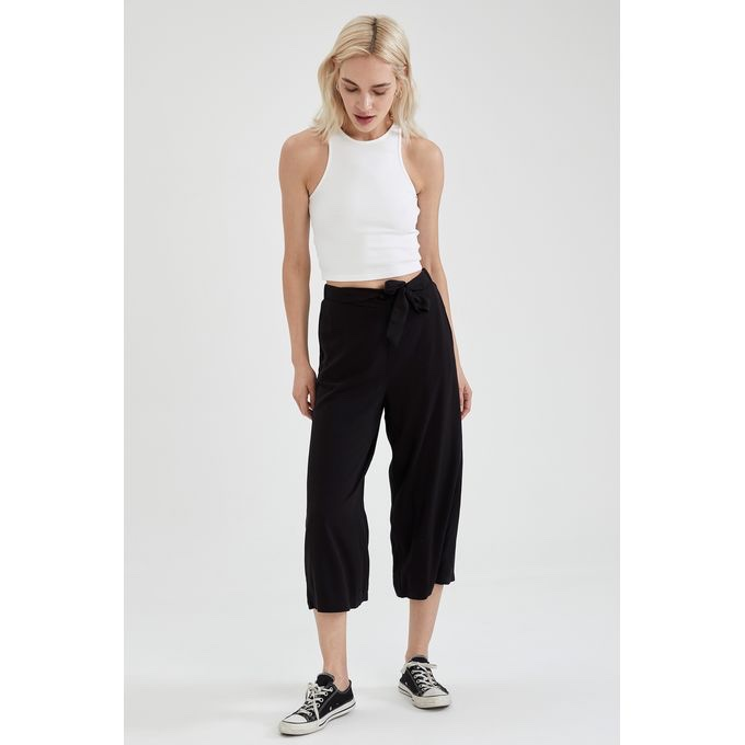 Culottes, black trousers